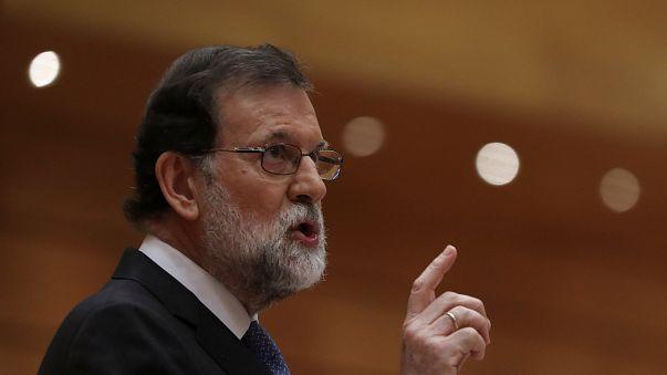 """Rajoy promete """"restaurar legalidade"""" na Catalunha"""