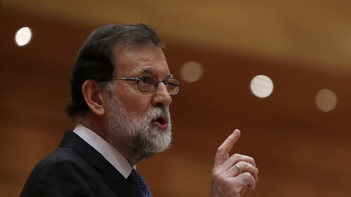 Spain's Prime Minister calls for calm after Catalonia declares independence