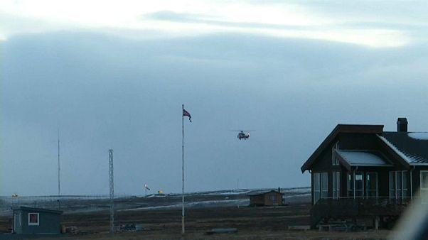 На Шпицбергене ищут российский вертолет