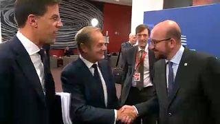 In ersten Reaktionen haben sich europäische Enstcheidungsträger gegen Kataloniens Unabhängigkeitserklärung ausgesprochen