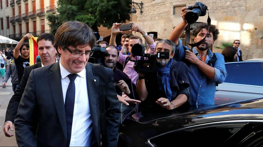 Being a journalist in the Catalan storm