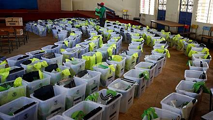 Kenya election: Voting coming to an end [no comment]