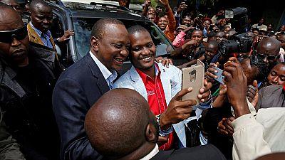 Kenya's president leads by a wide margin in early results