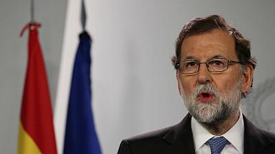 Spanish PM Rajoy fires government of Catalonia, calls snap elections