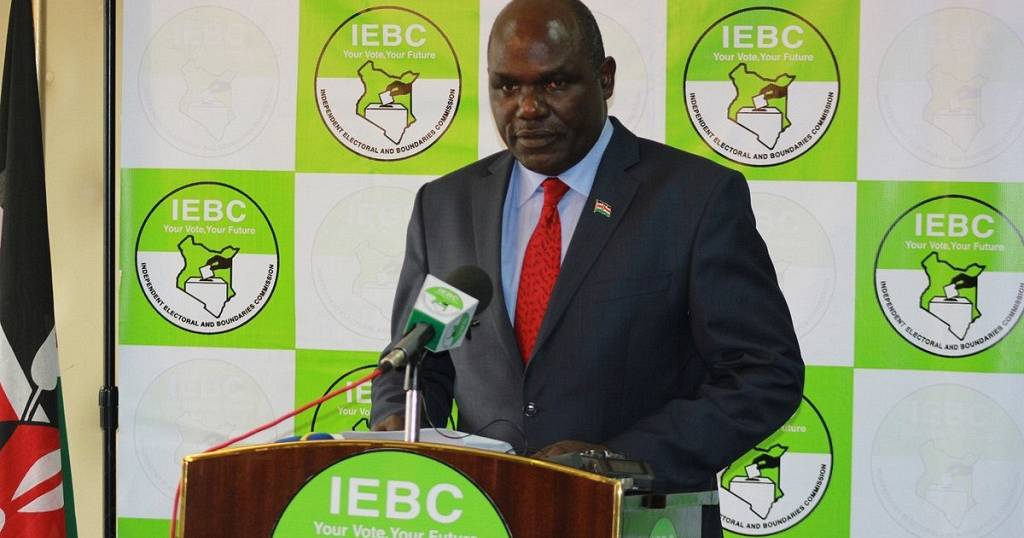 Kenya's IEBC calls off postponed election in four protesting counties   Africanews