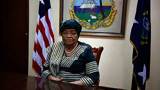 Liberia's Johnson Sirleaf marks 79th birthday, final celebration as president