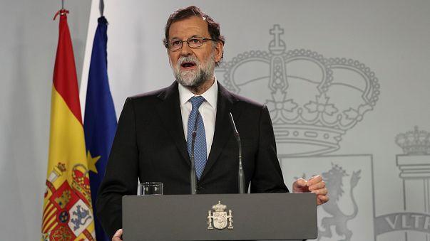 راخوي يحل برلمان كتالونيا ويدعو لانتخابات مبكرة في الاقليم