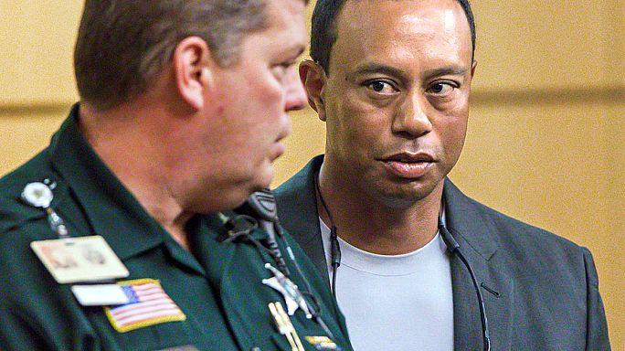 Tiger Woods admite-se culpado de condução perigosa e evita prisão