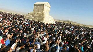 مسدود شدن جاده پاسارگاد و نگرانی از برگزاری روز کوروش در ایران