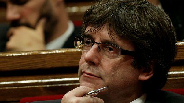 پوجدمون کاتالانها را به «مقاومت دموکراتیک» فرا خواند