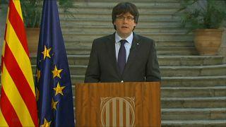 """Каталония: Пучдемон призывает оказать """"демократическое сопротивление"""""""