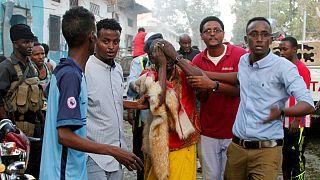 Al-Shabab claims twin suicide attacks in Mogadishu