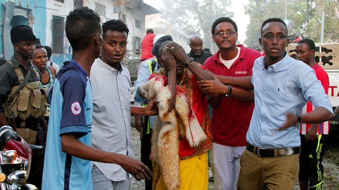 Dos fuertes explosiones sacuden el centro de Mogadiscio