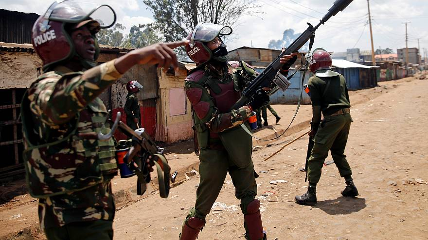 Violence erupts in Nairobi over re-run Kenyan presidential poll