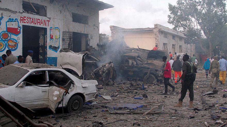 ثلاثة انفجارات في العاصمة الصومالية مقديشو