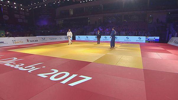 Grand Slam d'Abu Dhabi : Cyrille Maret en or, chez les +100kg !
