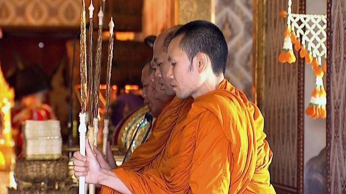 Tayland Kralı son yolculuğuna uğurlandı