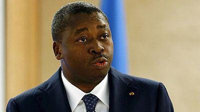 """Togo : le président Gnassingbé """"optimiste"""" pour surmonter la crise"""