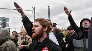 White supremacists hold rally in Tennessee