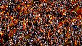 Unionists in Barcelona organize mass protest after declaration of independence