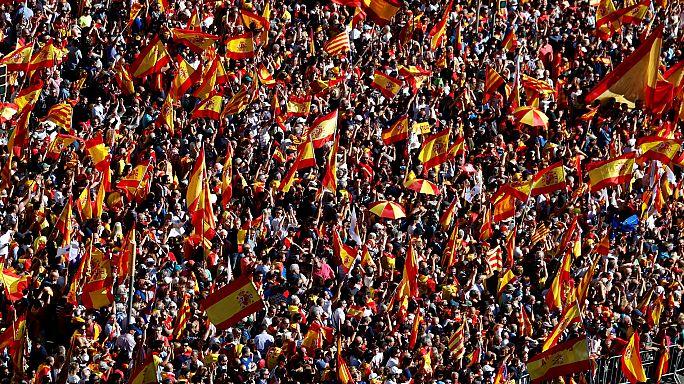 Barcellona: la marcia per l'unità