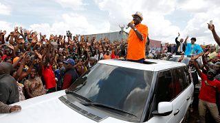 Odinga quer novas presidenciais no Quénia