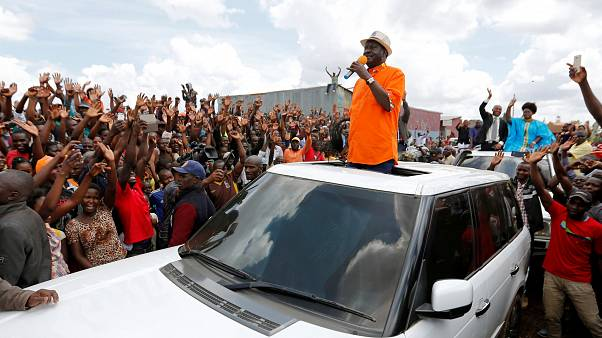 Kenyan opposition leader Odinga calls for fresh elections