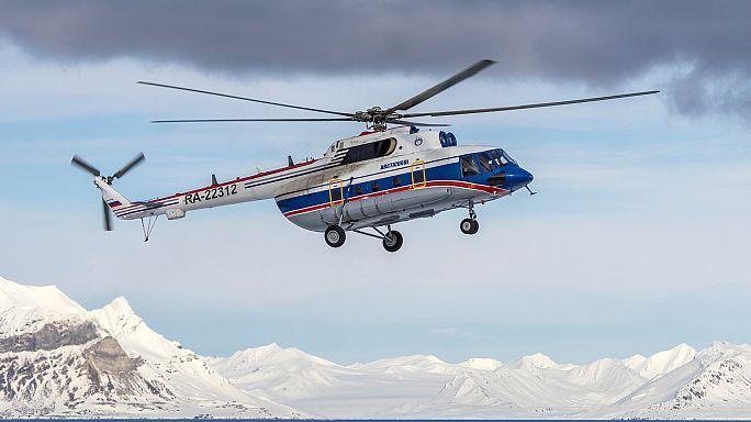 Найдены обломки пропавшего Ми-8