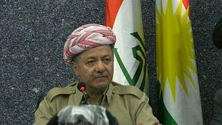 Barzani despede-se da presidência do Curdistão iraquiano