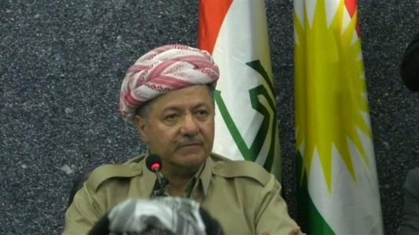 Iraqi Kurdish leader Masoud Barzani to step down from presidency