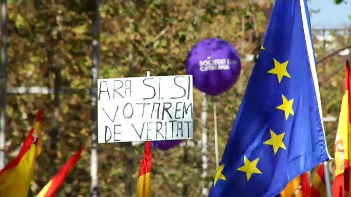 Rassemblement pour l'unité de l'Espagne à Barcelone