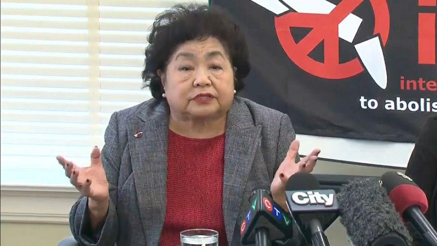 Sobrevivente de Hiroxima recebe Nobel da Paz em nome da ICAN
