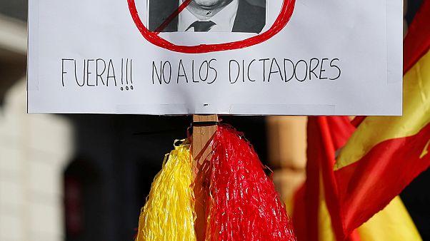 """""""Каталония - это все мы"""": митинг против независимости"""