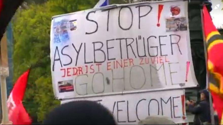 """ألمانيا: تجمع لأنصار حركة """"بيغيدا"""" العنصرية في دريسدن"""