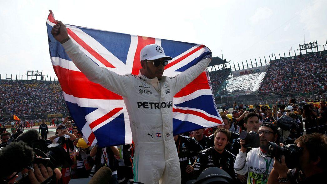 Hamilton, campeón del mundo de F1 por cuarta vez