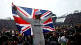 F1: Hamilton campione del mondo per la quarta volta