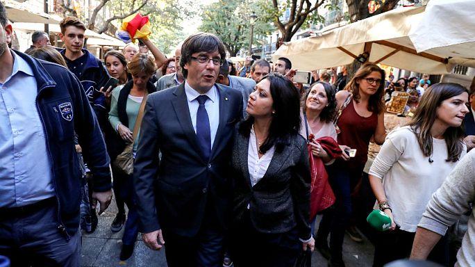 Kataloniens Behörden nehmen Arbeit unter Zwangsverwaltung auf