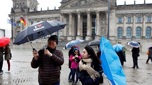 Europa Central atingida por tempestade violenta