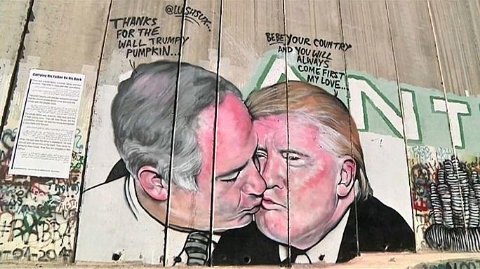 Graffiti in Bethlehem: Enge Beziehungen