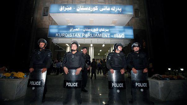 هجمات على مكاتب أحزاب كردية معارضة لبرزاني