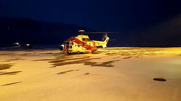 Спасатели обследовали обломки Ми-8