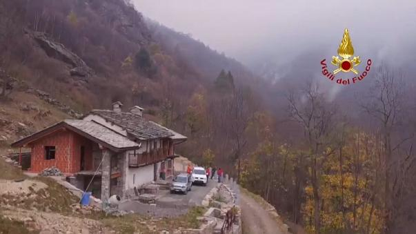 Incêndios no noroeste de Itália