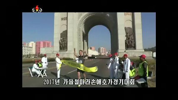 بالفيديو: أول ماراثون في بيونغ يانغ بمشاركة عدائين أجانب