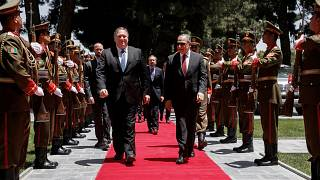 Image: U.S. Secretary of State Mike Pompeo visits Afghanistan