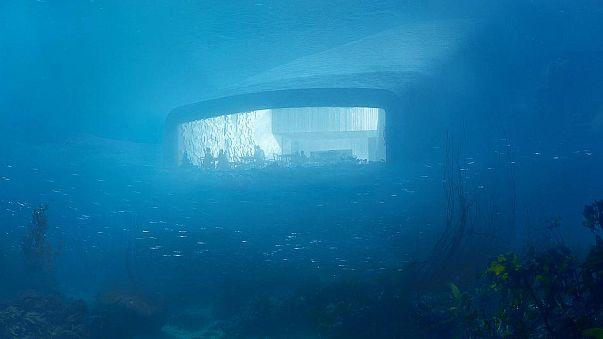 """""""Under"""", un restaurante submarino en Noruega"""