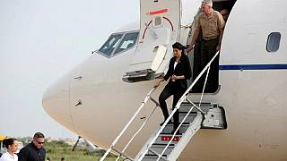 US ambassador Haley arrives in DR Congo [no comment]