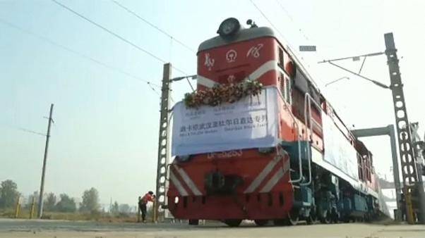 Freight train begins new China to Europe route