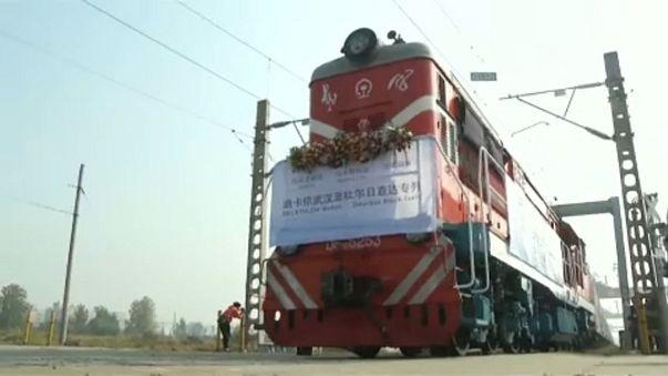 Chinas Räder rollen Richtung Westen