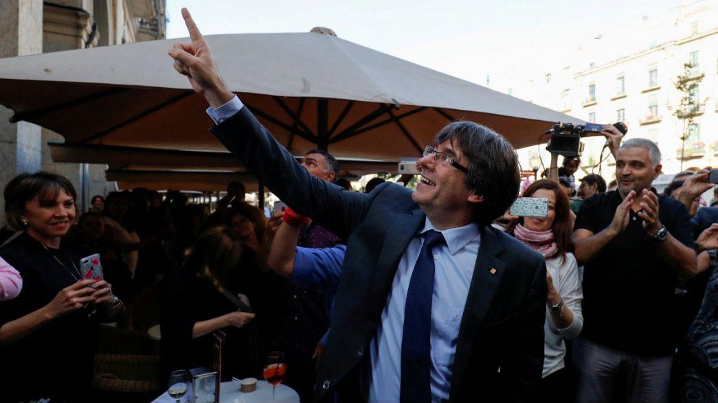 Puigdemont está en Bruselas reunido con nacionalistas flamencos