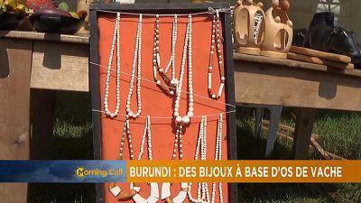 'Cow bone jewellery' from Burundi [The Morning Call]
